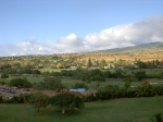 view towards the mountains from Hyatt Regency Maui