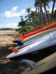 surfboards - Kaanapali beach