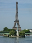 Eiffel tower-statue of libery